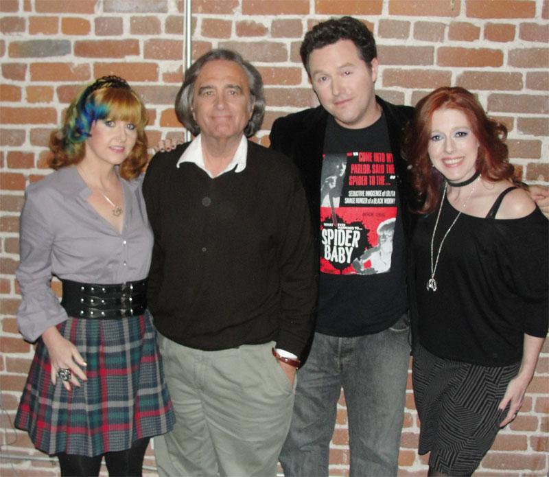 Staci Layne Wilson, Joe Dante, Elric Kane, and Rebekah McKendry