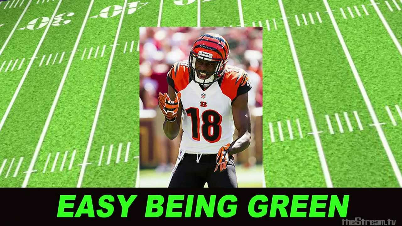 BENGALS A.J. GREEN is in BEAST MODE- Week Two Fantasy Football- Big Balls 107