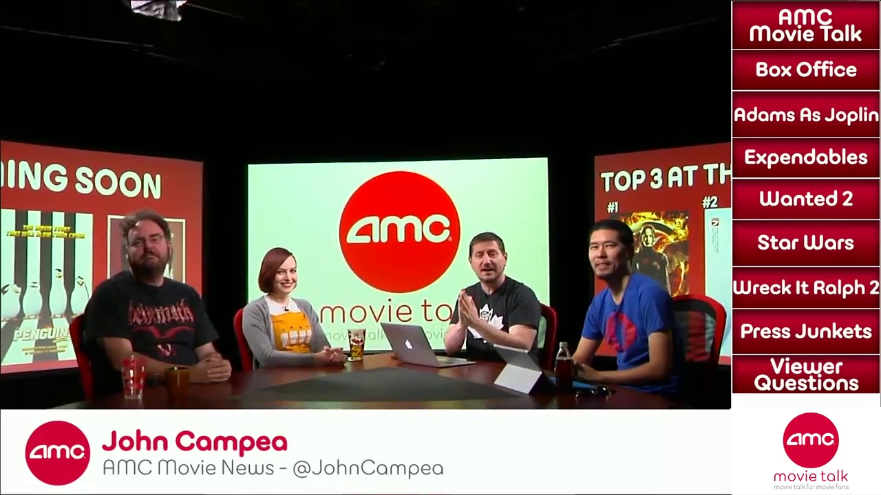 AMC Movie Talk – First Trailer For STAR WARS THE FORCE AWAKENS Coming This Week!
